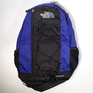 North Face Backpack Mohawk Canvas Book Bag Padded